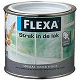 Flexa Strak in de Lak Hoogglans  Antiekrood - 750 ml